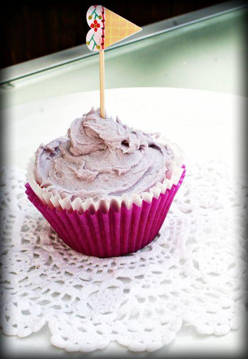 Purple cupcakey