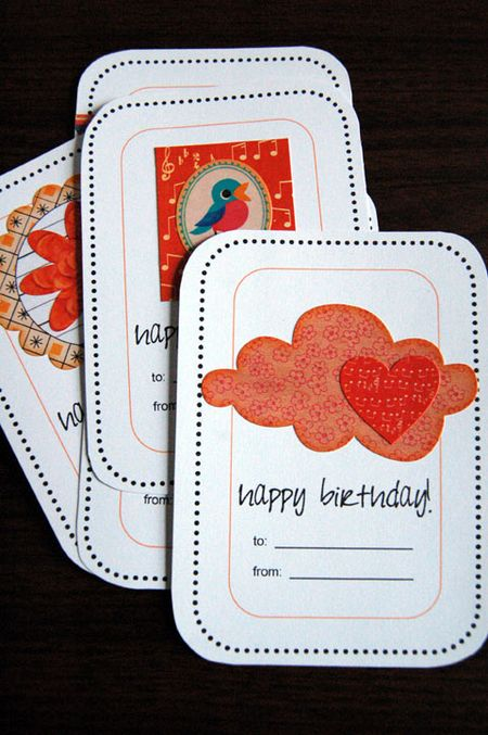 Ellies tale bday cards