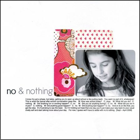 Peg manrique - no&nothing