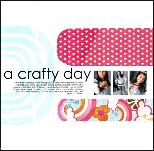 Peg manrique  - a crafty day